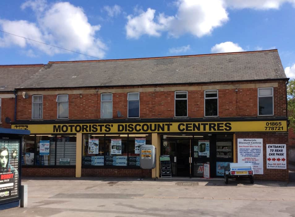 Motorists' Discount Centre - Cowley
