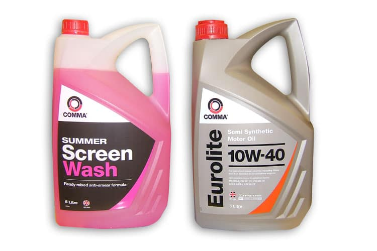 Oil and Screenwash