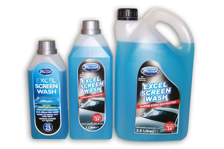 Excel Screenwash