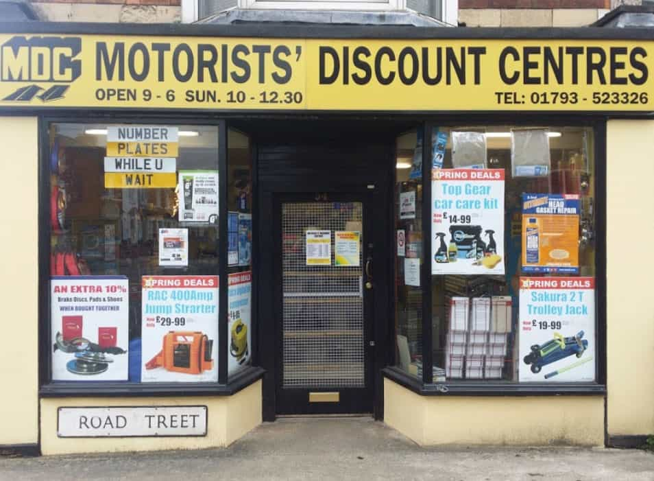 Motorists' Discount Centre - Swindon